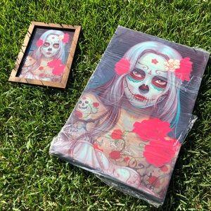 Day of the Dead Catrina Dia de los Muertos Canvas